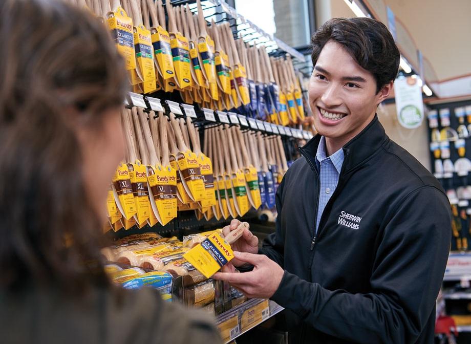 Stores sales employee
